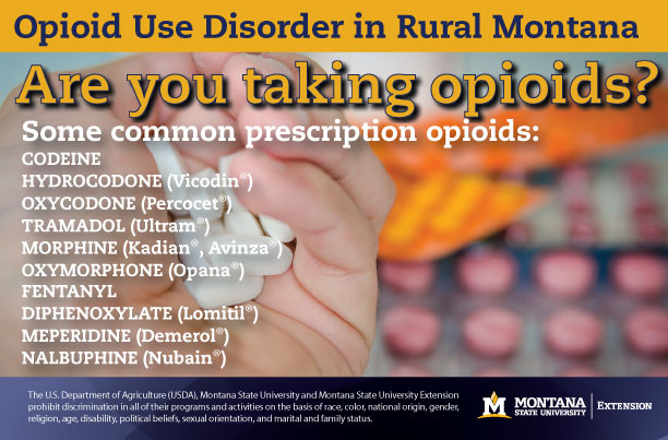 Opioid use disorder in rural montana