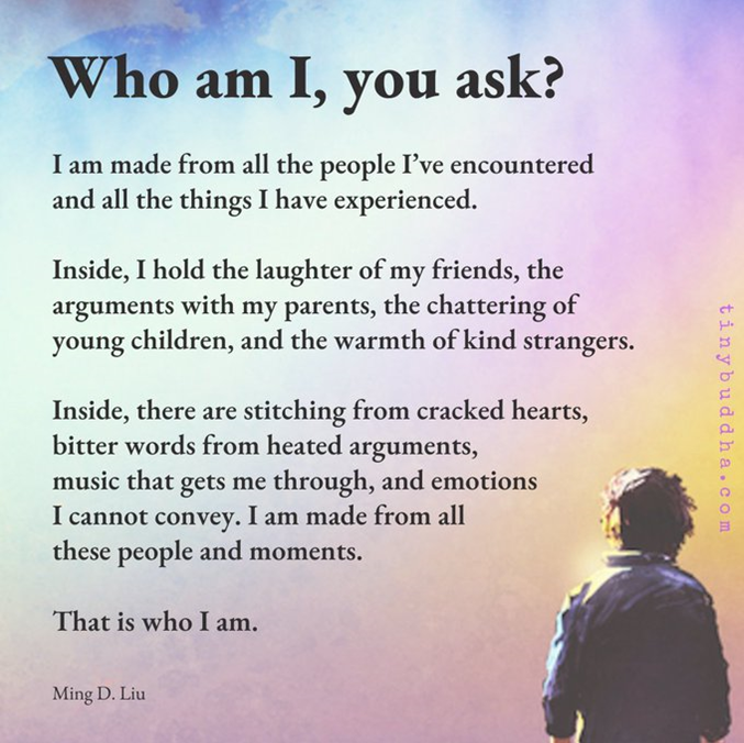 Who am I, you ask?